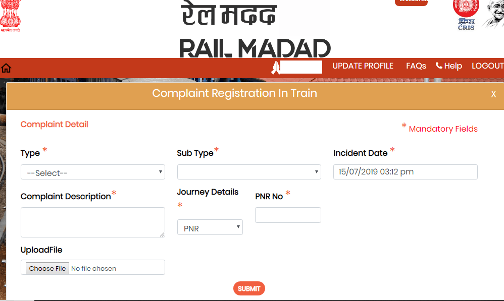 Rail Madad